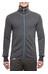 Woolpower 400 Full Zip Jacket Unisex grey/turquoise